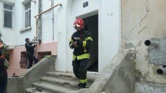 Pompierii au stins incendiul în scurt timp