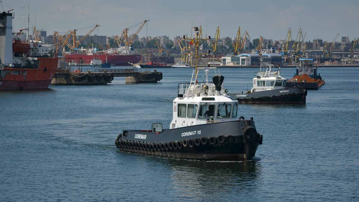 Remorchere in Portul Constanta