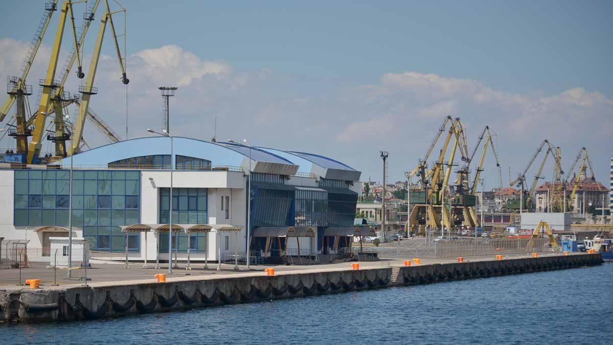 Terminalul de pasageri din Portul Constanta