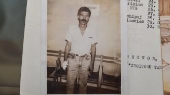 Dimitrache Delicote după ce s-a externat din spital în urma atacului asupra navei Fundulea. FOTO Cătălin Schipor