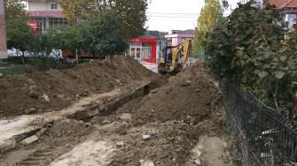Lucrări de asfaltare și reabilitare a canalizării la Cernavodă. FOTO CTnews.ro