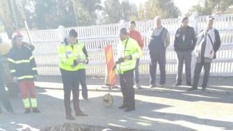 Polițiștii au deschis o anchetă pentru a stabili dinamica accidentului. FOTO ISU Dobrogea