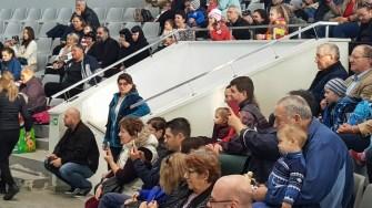 Sute d epersoane au mers să vadă gratuit de Ziua Dobrogei spectacolul de la Delfinariu