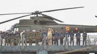 """Fregata """"Regele Ferdinand"""" s-a întors acasă. FOTO Cătălin Schipor"""