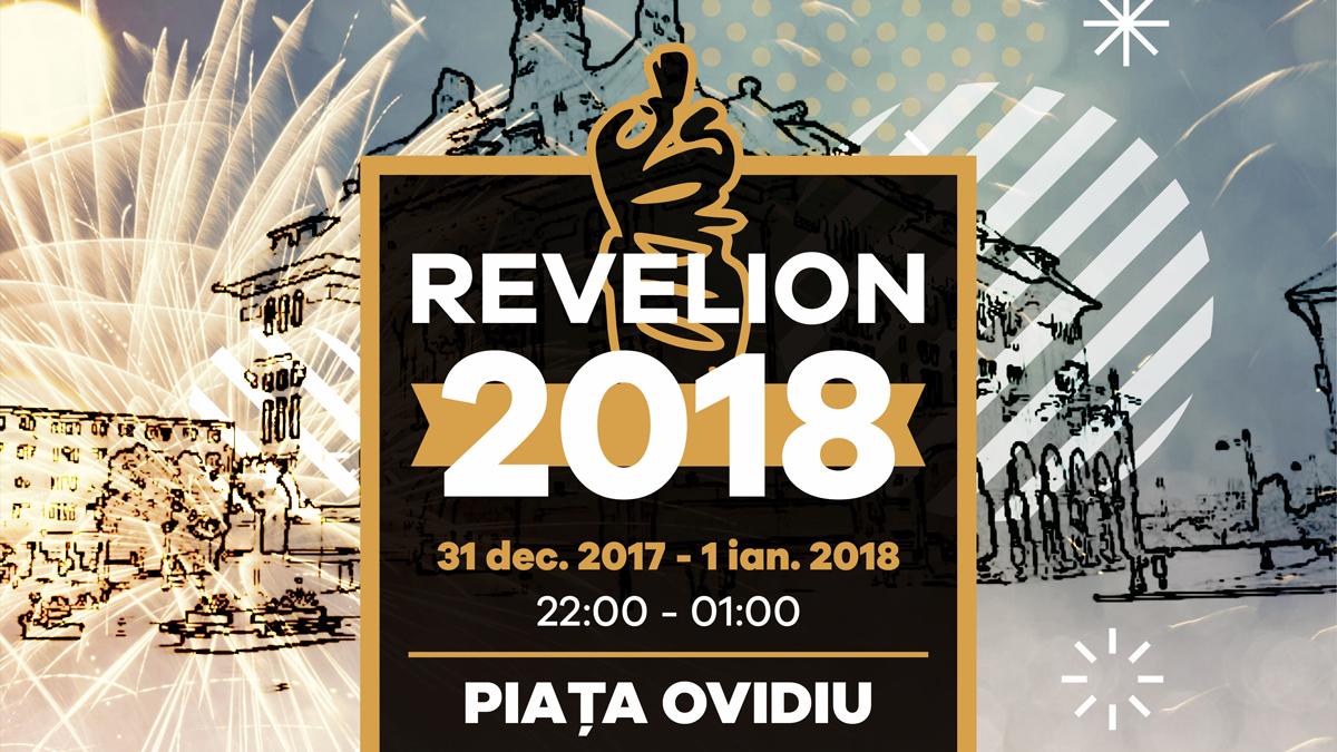 """Afiș """"Revelion 2018"""" la Constanța"""