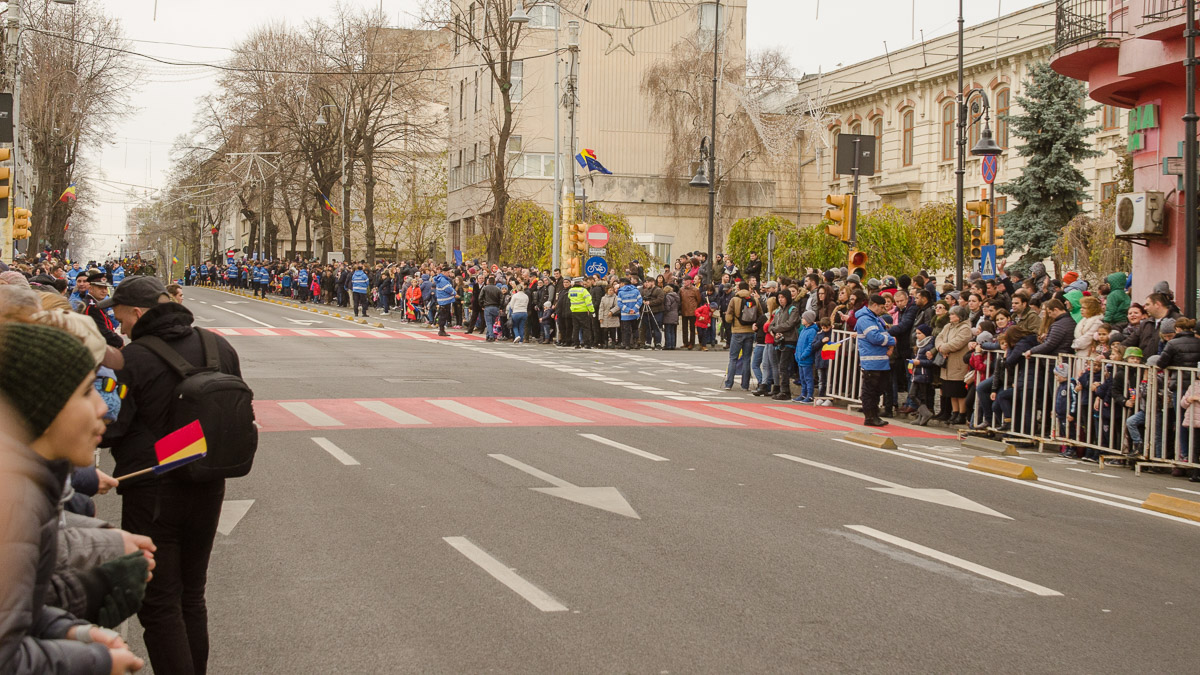 Jandarmiii au avut și misiunea de a asigura măsuri de ordine și liniște publică. FOTO Cătălin Schipor