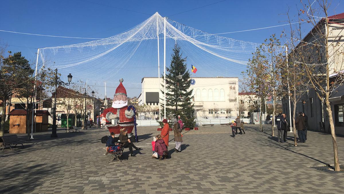 Patinoar la Cernavodă. FOTO CTnews.ro