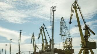 Macarale în Portul Constanța. FOTO Cătălin Schipor