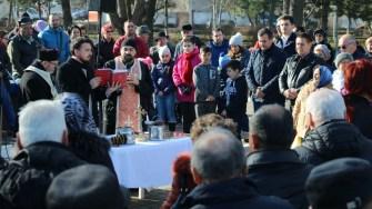 La Medgidia, slujba de Bobotează s-a ținut pe faleza din municipiu
