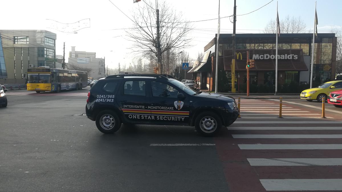 Echipaj One Star Security la datorie. FOTO OSS