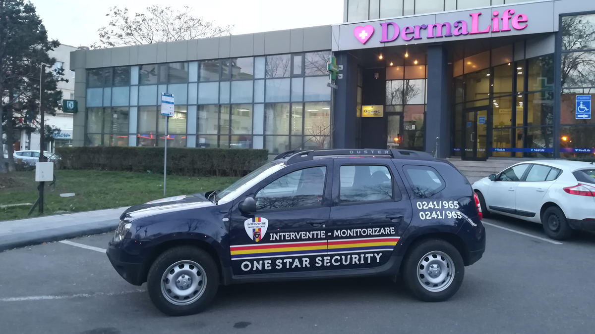 Echipaj One Star Security la datorie. FOTO OSS
