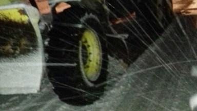 Ninge viscolit în tot județul Constanța. FOTO RAJDP Constanța