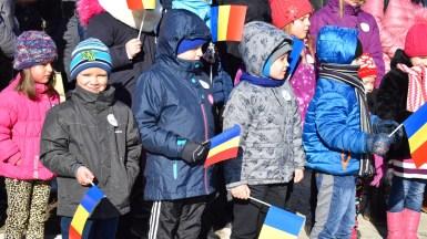 Copiii din Cumpăna au fost prezenți la Ziua Micii Uniri. FOTO Primăria Cumpăna