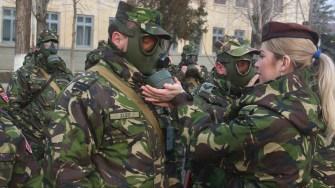 Pentru militari, noul an înseamnă mai mult. FOTO MAPN