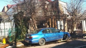 În urma exploziei, mai multe materiale au fost aruncate până în stradă. FOTO ISU Dobrogea