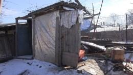 Haznaua de unde a fost scos copilul. FOTO Captură Video