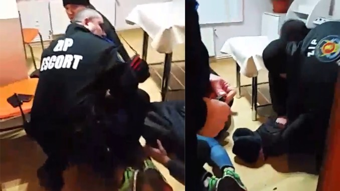 Intervenție Zip Escort la Constanța. FOTO Captură Video