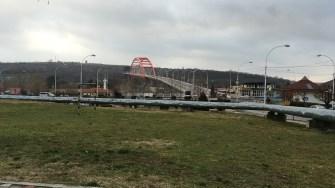 Podul Sf. Maria a fost reabilitat și iluminat de către Primăria Cernavodă