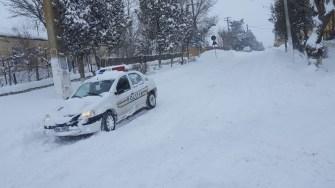 Polițiștii sunt la datorie în plin Cod Portocaliu