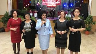 Mariana Gâju și echipa sa la Ziua Femeii, organizată de Primăria Cumpăna. FOTO Adrian Boioglu