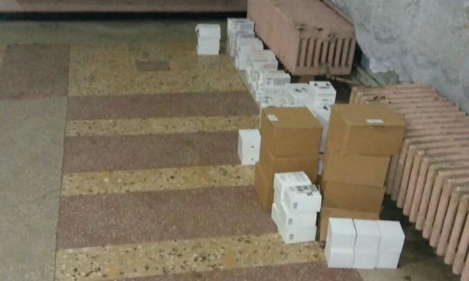 Polițiștii de frontieră au depistat bunuri contrafăcute în valoare de 2 milioane lei. FOTO Poliția de Frontieră