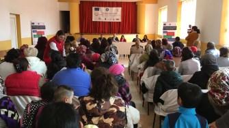 Deschiderea proiectului de incluziune socială de la Satu Nou. FOTO CTnews.ro