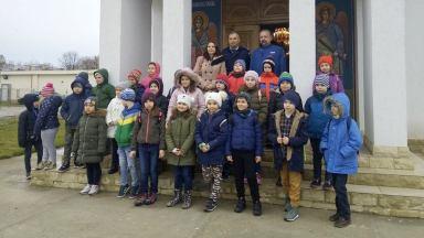 Jandarmii au fost vizitați de către elevii constănțeni. FOTO IJJ Constanța