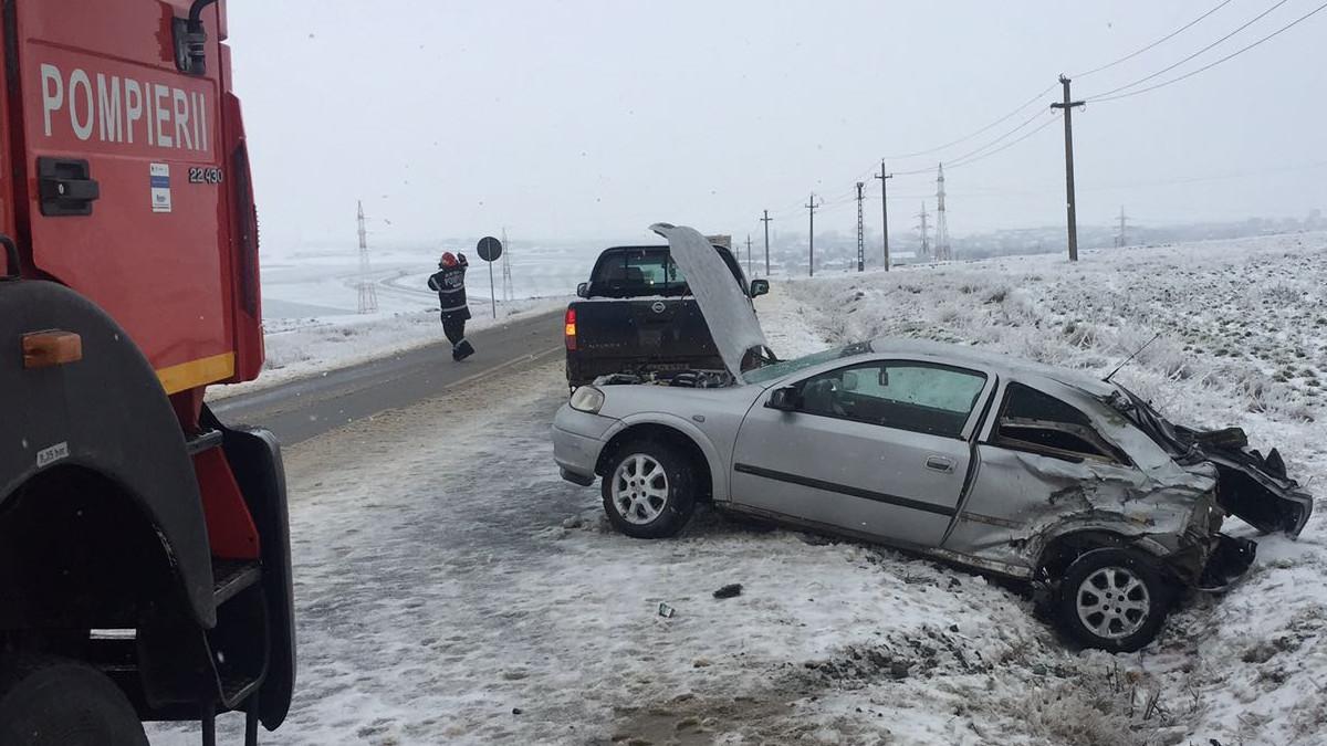 accident rutier politie iarna zapada polei (5)