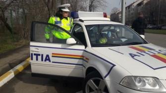 Polițiștii se anunță în număr mare pe străzi. FOTO IPJ Constanța