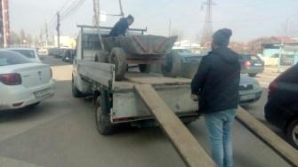 Polițiștii Locali constănțeni i-au sancționat pe cei prinși cu căruțele prin oraș. FOTO DGPL Constanța