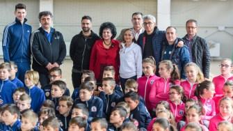 Edilul comunei a promis că va fi tot timpul în spatele antrenorilor și îi va suține să-și continue performanța lor prin copiii din Cumpăna