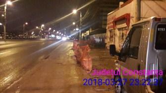 Cei care au executat lucrări pe spațiul public și nu au respectat legislația au fost sancționați de Poliția Locală. FOTO DGPL Constanța