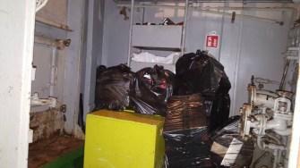Marinarii sirieni făceau contrabandă serioasă. FOTO Poliția de Frontieră