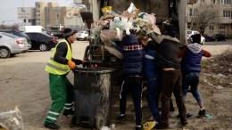 Scormonitori în gunoaie. FOTO DGPL Constanța