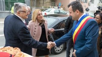 Delegație de ambasadori la Primăria Medgidia. FOTO Alexandru Bran