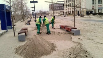 Angajații Polaris continuă acțiunile din campania Constanța Noastră. FOTO Polaris M Holding