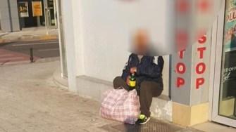 Cei ce apelează la mila publicului nu sunt tolerați de polițiștii locali. FOTO DGPL Constanța