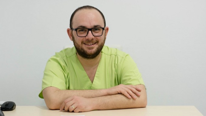 dr. Stelian Mociu, Medic Specialist Anestezie și Terapie Intesivă la Ovidius Clinical Hospital. FOTO OCH