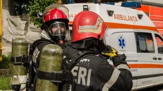 Pompierii ISU Dobrogea. FOTO Cătălin SCHIPOR
