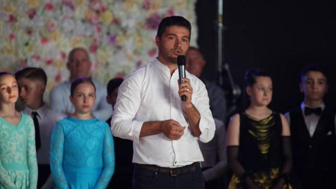 Primarul George Scupra le-a mulțumit participanților la competiție. FOTO Sorin Danielciuc