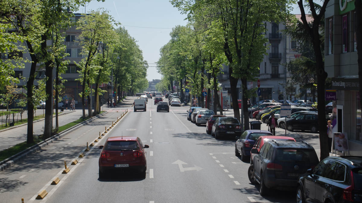 bulevardul Tomis trafic auto (3)