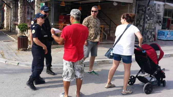 Gruparea de Jandarmi Mobilă Constanţa, a lansat o campanie de informare şi prevenire. FOTO GJM Tomis