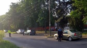 Polițiștii constănțeni au ieșit pe străzi, fiind organizate razii. FOTO IPJ Constanța