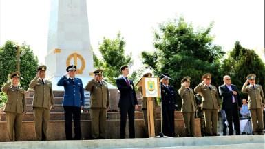 Ziua Eroilor a fost sărbătorită la Medgidia. FOTO Primăria Medgidia