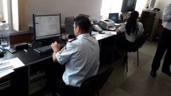 """S-a activat Secretariatului Tehnic al CODM la sediul Inspectoratuluipentru Situații de Urgență """"Dobrogea"""" al județului Constanța. FOTO ISU Dobrogea"""