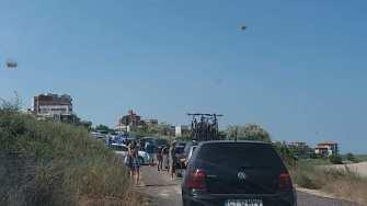 O zi de plajă i-a costat pe unii constănțeni aproape 300 de lei numai parcarea. FOTO Facebook/Radare & Filtre Constanta