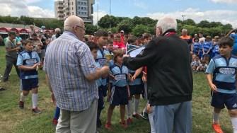 Rugby-știi U10 de la CSO Ovidiu au obținut locul III la competiție