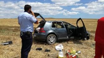 În urma accidentului rutier, patru persoane au fost rănite