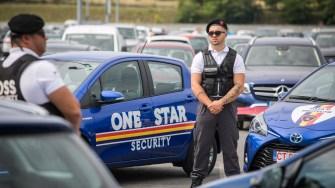 Noua Flotă One Star Security este una ECO, de la Toyota. FOTO Ștefan Ciocan