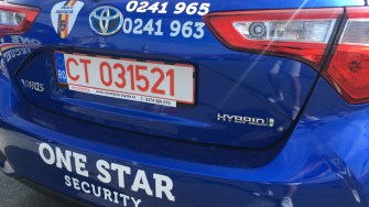 Noua Flotă One Star Security este una ECO, de la Toyota. FOTO CTnews.ro